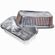 Rectangular BBQ Aluminum Foil Lunch Box