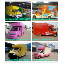 Camión vendedor caliente de la comida / carro móvil del almacén / camiones rápidos de la comida rápida / hecho en China Fábrica famosa de CLW
