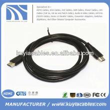 Câble HDMI M / M 24k Or pour HDTV LCD Le câble HDMI haute performance offre une impressionnante vidéo et une excellente clarté audio, Design