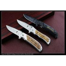 "8.4"" Wood Handle Camping Knife (SE-130)"
