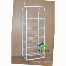 5 Layer Heavy Duty Floor Metal Shelf Rack (PHY532)