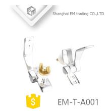 EM-T-A001 Salle de bains en laiton chrome électrodéposition siège de toilette charnière