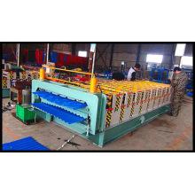 Профилегибочная машина для производства листового металла с двойной кровлей, оборудование китайского поставщика
