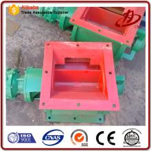 CNP-Rundschleusenventil mit Aschebehälter verbinden