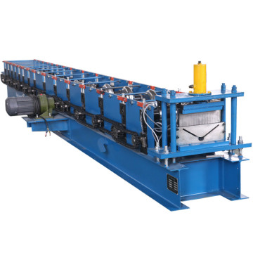Jubin Berwarna Ridge Cap Tile Cold Forming Machine