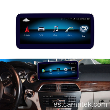 Android Mercedes Clase C W204 2011-2013