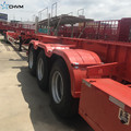 40FT Tri-Axle Container Skeleton Semi Trailer