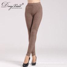 nouveau style garder au chaud les pantalons de cachemire des femmes adapté hiver