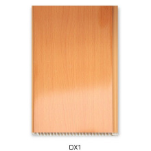 16cm PVC-Wandplatte mit hölzernem Design (DX1)