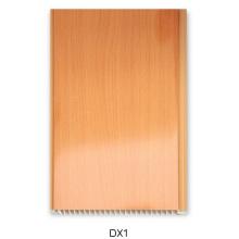 16см ПВХ стеновая панель с деревянным дизайном (DX1)