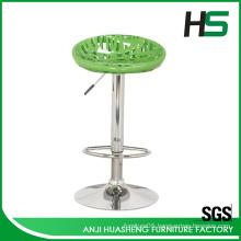 Manufacturer modern style salon plastic bar chair