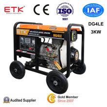 220V/60Hz Sigle Phase Electric Generator (3KW)