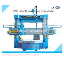 CNC Lathe Machine Torno de corte de metal preço oferecido pela fabricação de máquina Vertical Torno