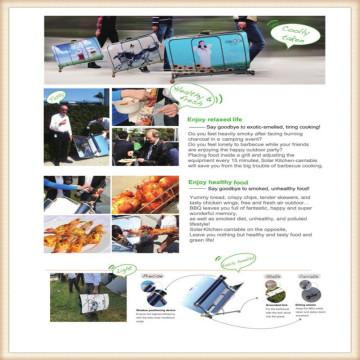 Solar Ofen für Barbecue