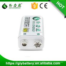 Batería recargable de Geilienergy Ni-mh 6f22 9V 200mah del fabricante de Guangzhou