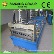 Flat Sheet Corrugated Roll Forming Machine from Sanxing Group
