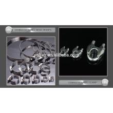 ISO BV e certificado CE 304 AISI braçadeira de aço inoxidável China fabricante