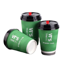 ECO-friendly ripple wall paper cup