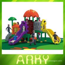 Garden plastic playground, outdoor garden slide, garden playground slide