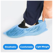 Healthcare Hospital Nonwoven PP desechable cubierta de zapatos