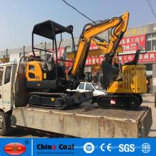 JH22 excavador de la excavadora de la correa eslabonada de 2.2 toneladas mini