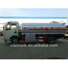 Venta caliente Dongfeng 5-7m3 camión de petróleo móvil / camión cisterna de combustible en Zimbabwe