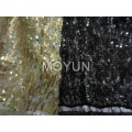 CHEMICAL IN ST YARN + 3MM SEQUIN EMBD 44""