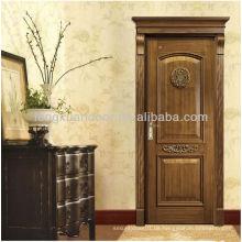 Klassische Einstieg Holz Tür & Luxus Holz Tür Designs, Massivholz Tür oder MDF Holz Tür Material
