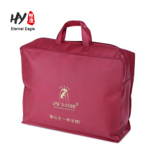 New products thick non woven zipper bag made in China
