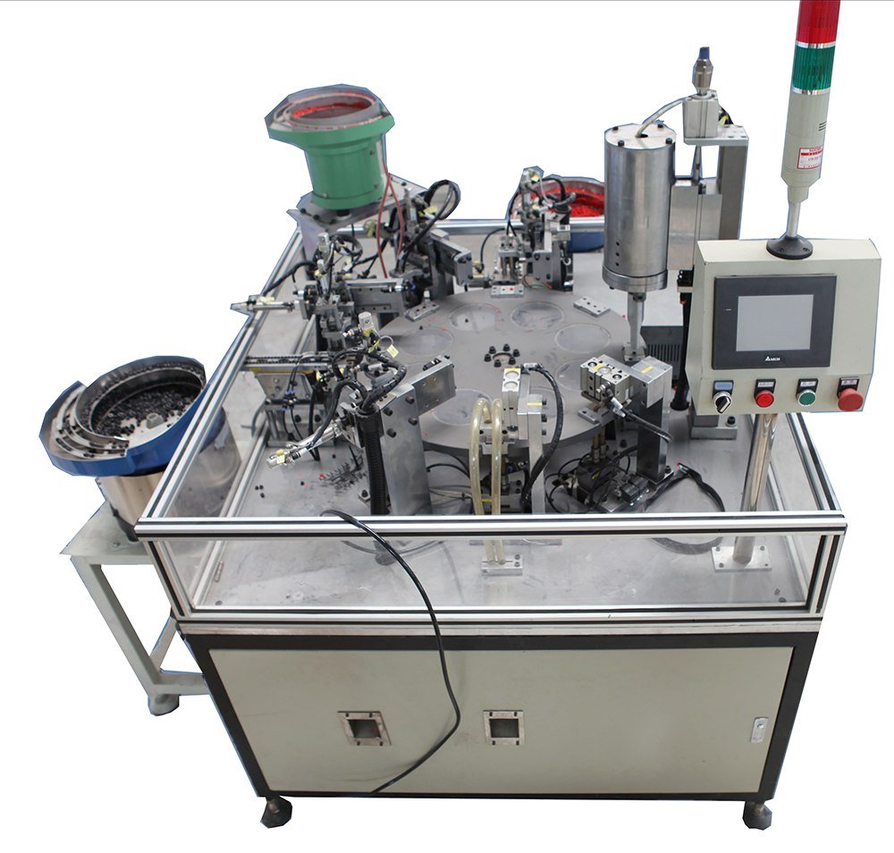 Automatic welding assembly machine