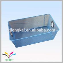 Cesta de malla metálica de alambre de alta calidad para fruta de almacenamiento