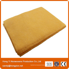 Yellow Color Needle Punched Nonwoven Fabric Magic Cleaning Cloth