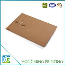 Custom Plain Kraft Envelope with String