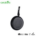 Honeycomb Black Marble Nonsticking Fry Pan