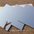 Panneau composé en aluminium anodisé par argent / miroir d'or de haute qualité / ACP d'Alucobond