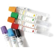 Tubo de extracción de sangre al vacío médico desechable