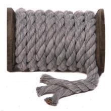 16mm Soft Nature Cotton Twisted Rope