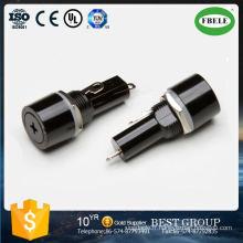 Fusible non inclus Montage sur panneau 20A Plastique 3AG 6X30 mm Porte-fusible