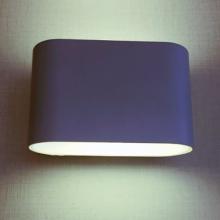 2 * 3W acima para baixo luminárias de parede interior branco
