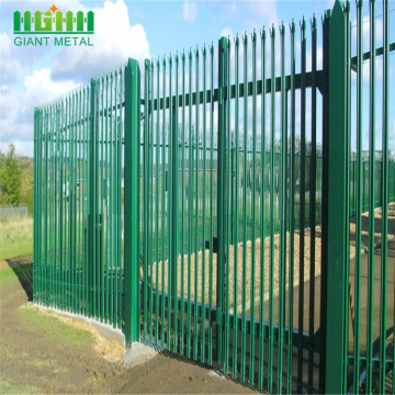 Powder Coated Steel W Pale Palisade Anggar