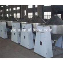 Metal oxide powder double tapered vacuum dryer
