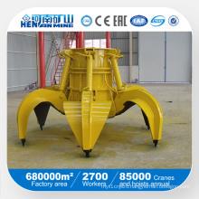 5 Cubic Meter Hydraulic Steel Scrap Grab