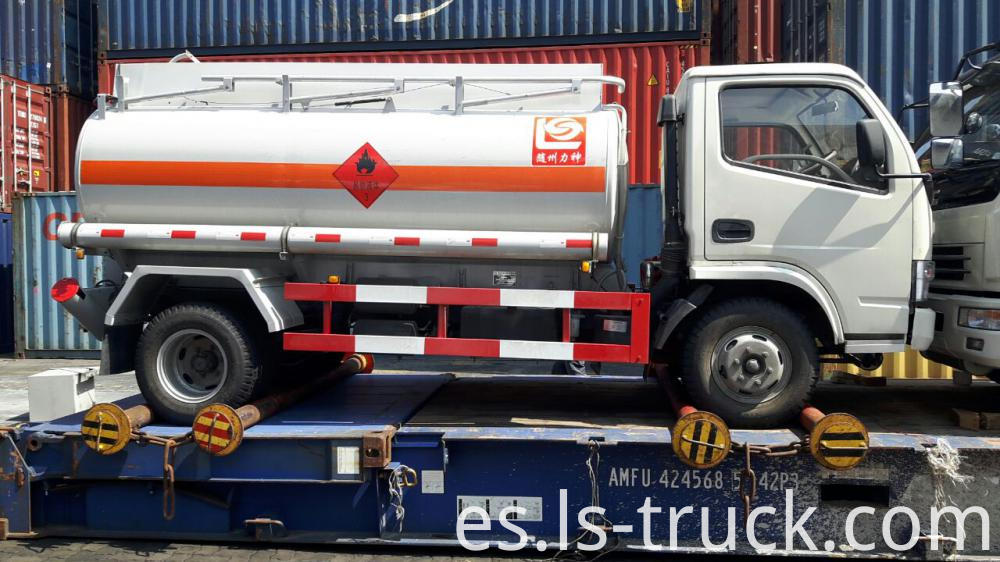 fuel truck shipping