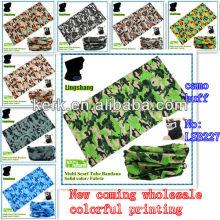 Camouflage pattern sport headband with seamless cheap bandanas for sale camouflage bandana headband! !LSB227