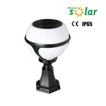 Globular solar fencing wall light; solar led outdoor wall light (JR-2012)