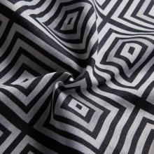 Hot Linen-like Jacquard Soft-Design Textil Vorhang Stoff