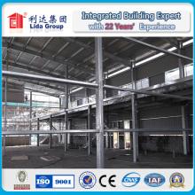 Atelier populaire d'entrepôt de structure en acier Saled populaire