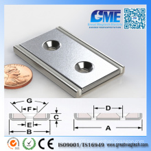 High Quality The Countersink N40 Magnetic Assembly Neodymium Magnets