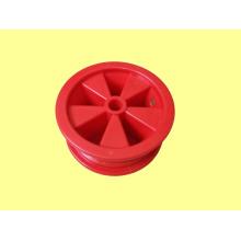 Пластмассовые колеса, колесные диски для резиновых колес 350-6, OEM приемлемым