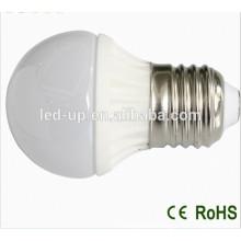 Lumière halogène de rechange d'ampoule à base de LED e27 en verre